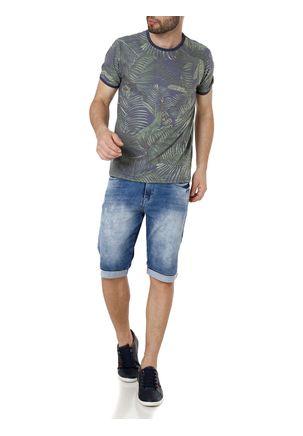 Camiseta-Manga-Curta-Masculina-Vels-Azul-verde-P