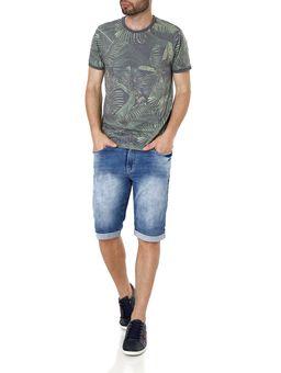 Camiseta-Manga-Curta-Masculina-Vels-Cinza-verde-P