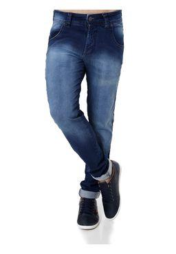 Calca-Jeans-Skinny-Masculina-Bivik-Azul