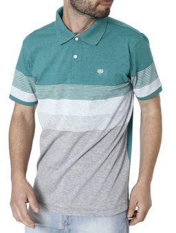 Polo-Manga-Curta-Masculina-Verde-P
