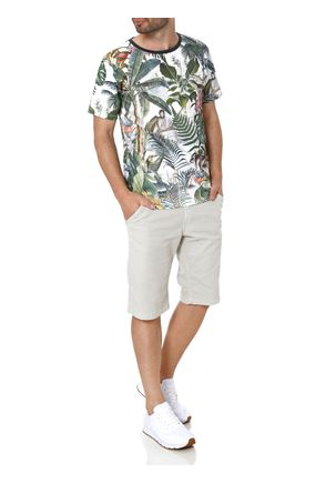 Camiseta-Manga-Curta-Masculina-Branco-verde-P