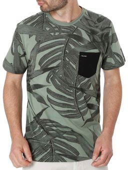 Camiseta-Manga-Curta-Masculina-Full-Surf-Verde