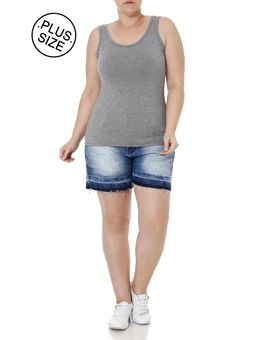 Blusa-Regata-Plus-Size-Feminina-Autentique-Cinza