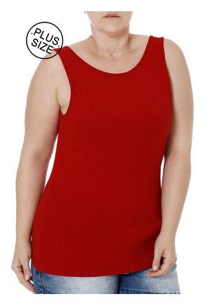Blusa-Regata-Plus-Size-Feminina-Autentique-Vermelho