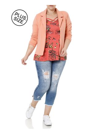Blusa-Manga-Curta-Plus-Size-Feminina-Autentique-Salmao-G2