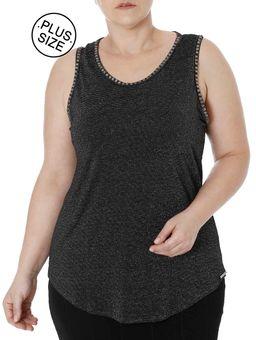 Blusa-Regata-Plus-Size-Feminina-Autentique-Preto-G2