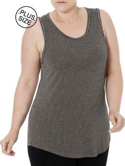 Blusa-Regata-Plus-Size-Feminina-Autentique-Verde-G2