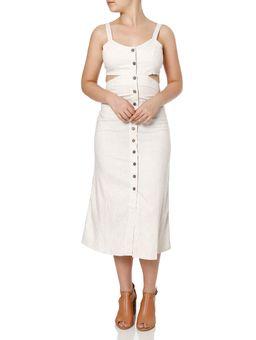 Vestido-Midi-Feminino-Autentique-Bege