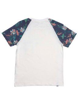 Camiseta-Manga-Curta-Infantil-Para-Menino---Bege-6