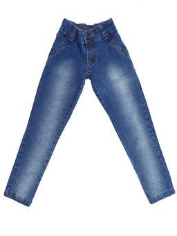 72f2216f6 Calça Jeans Infantil Para Menina - Azul