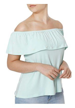 Blusa-Manga-Curta-Feminina-Ciganinha-Autentique-Verde-P