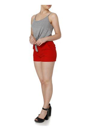 Short-Clochard-de-Tecido-Feminino-Vermelho