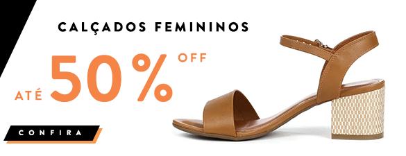 Feminino 75%OFF