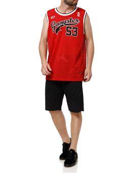 Camiseta-Regata-Masculina-Gangster-Vermelho-P