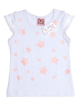 Blusa-Manga-Curta-Infantil-para-Menina---Branco