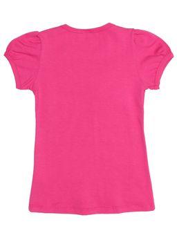 Blusa-Manga-Curta-Infantil-Para-Menina---Rosa-Pink-6