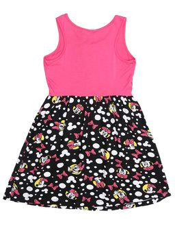 Vestido-Disney-Infantil-Para-Menina---Rosa-preto-6