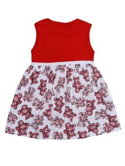 Vestido-Infantil-Para-Bebe-Menina---Vermelho-P