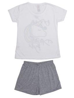 Pijama-Curto-Juvenil-Para-Menina---Off-White-10