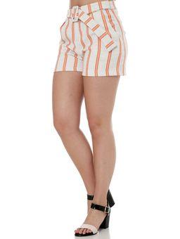Short-de-Linho-Feminino-Autentique-Nude-laranja