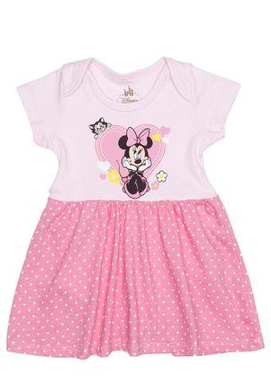 Vestido-Disney-Infantil-para-Bebe-Menina---Rosa