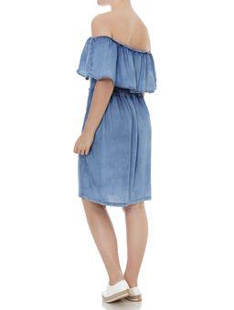 Vestido-Ciganinha-Jeans-Feminino-Azul-