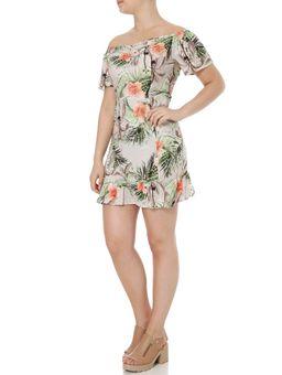 Vestido-Feminino-Autentique-Verde-laranja-P
