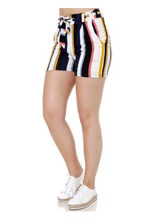 Short-de-Tecido-Feminino-Azul-Marinho-amarelo-P
