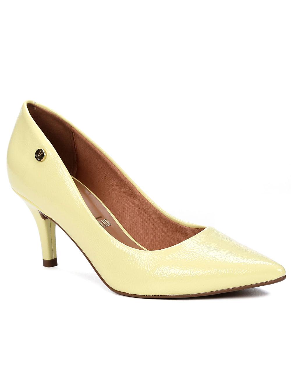 c9aa4d004c Sapato Scarpin Feminino Vizzano Amarelo - Lojas Pompeia