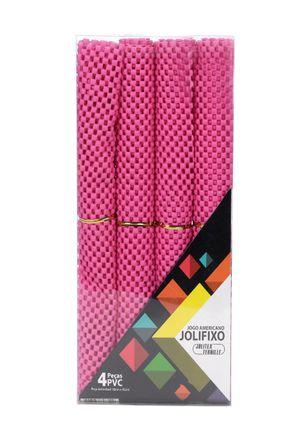 Kit-de-Jogo-Americano-Jolitex-Rosa