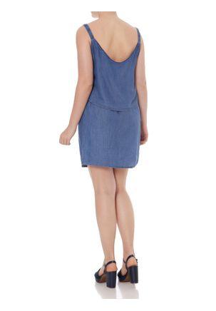 Vestido-Jeans-Feminino-Azul-P