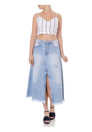 Saia-Midi-Jeans-Feminina-Azul-36