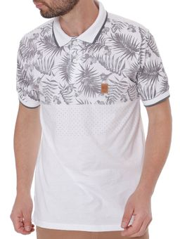 Polo-Manga-Curta-Masculina-No-Stress-Branco-P