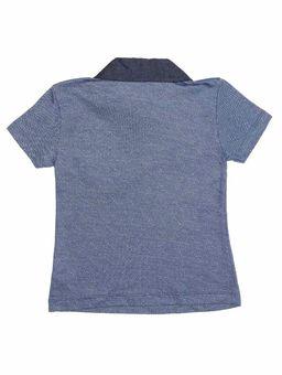 Polo-Manga-Curta-Infantil-Para-Menino---Azul-6