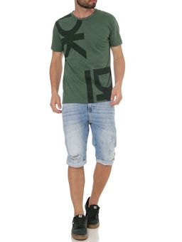 Camiseta-Manga-Curta-Masculina-Verde-P
