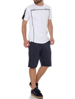 Camiseta-Manga-Curta-Alongada-Masculina-Branco-P