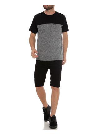 Camiseta-Manga-Curta-Masculina-Full-Surf-Preto-cinza-P