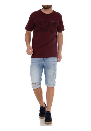 Camiseta-Manga-Curta-Masculina-Full-Surf-Bordo-P
