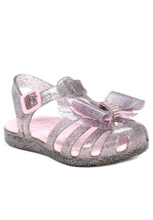 Sandalia-Infantil-Para-Bebe-Menina---Prata-25-26