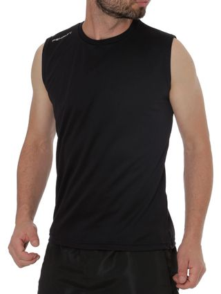 Camiseta Regata Running Masculina Penalty Preto - Lojas Pompeia a86f496f966