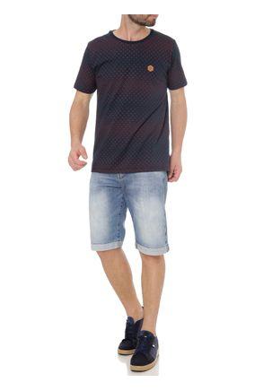 Camiseta-Manga-Curta-Masculina-No-Stress-Azul-Marinho-P