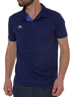 Polo-Esportiva-Manga-Curta-Masculina-Penalty-Azul-Marinho
