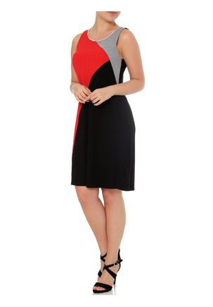 Vestido-Feminino-Lunender-Preto-vermelho-P