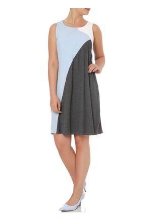 Vestido-Feminino-Lunender-Cinza-azul-P