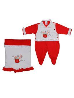 Enxoval-Infantil-Para-Bebe-Menina---Vermelho-P