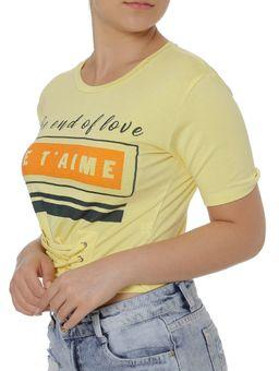 Blusa-Manga-Curta-Feminina-Amarelo-P