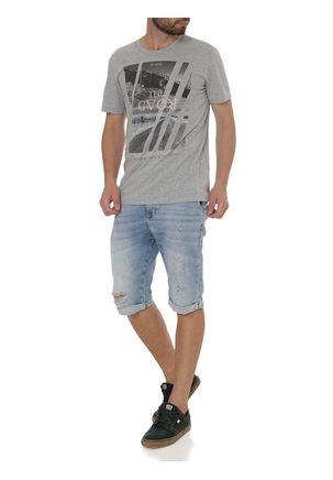 Camiseta-Manga-Curta-Masculina-Habana-Cinza