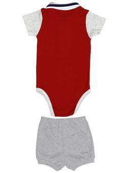 Conjunto-Infantil-Para-Bebe-Menino---Vermelho-cinza-P