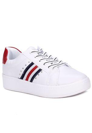 Tenis-Casual-Feminino-Kolosh-Branco-vermelho-35