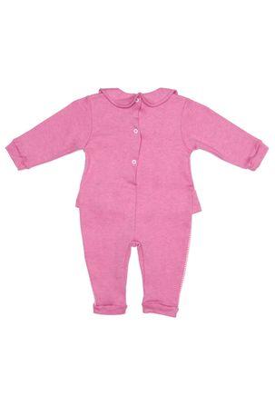 Macacao-Infantil-Para-Bebe-Menina---Rosa-Pink-P
